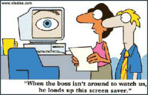 Funny Pictures-boss-office-funny images-funny photos-Screen Saver