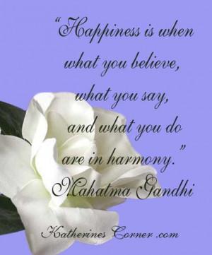 Mahatma Gandhi Quotes Keep Your Thoughts Positive Mahatma gandhi
