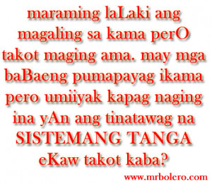 Best Funny Tagalog Love Quotes 2012