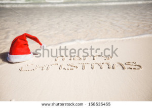 stock-photo-merry-christmas-written-on-tropical-beach-white-sand-with ...