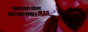 Being A Man' is a new customized attitude quote fb cover photo for ...
