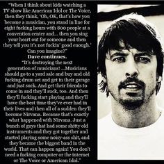 ... dave grohl davegrohl grohl quotes regardless favorite quotes grohl