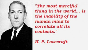 Lovecraft Wallpaper   Lovecraft quotations, sayings. Famous quotes ...