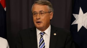 Wayne Swan has a budget in deep deficit Picture Ray Strange Source