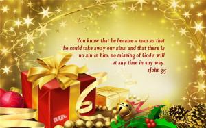 Download Christmas Bible Verse Desktop Wallpapers