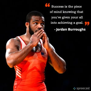 Jordan Burroughs offers advice to aspiring athletes who may have too ...