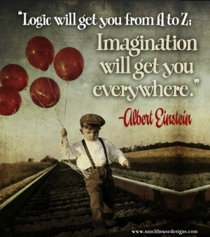 The imagination of a child...