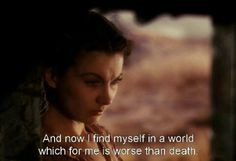 best quote in the world said by Scarlett O'Hara in Gone With the Wind ...