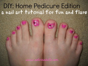 Diy Home Pedicure Edition