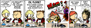 Funny Comic Strips About Elementary School