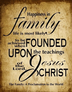 The Family: A Proclamation to the World.