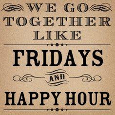 friday + happy hour