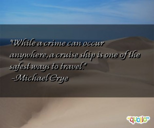 Quotes About Cruise Ships
