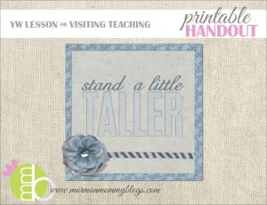 Free Handout: Stand a Little Taller