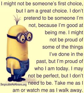 Minion I Love You Quotes