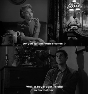 Horror Movie Quotes Tumblr #psycho #film #subtitles