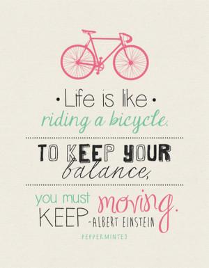 Favorite Inspirational Bike Quotes