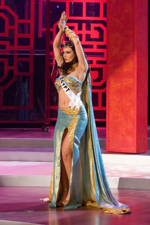 The Beautiful Miss Egypt 2008