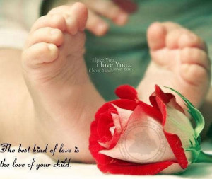 Love Quotes: Love of your child