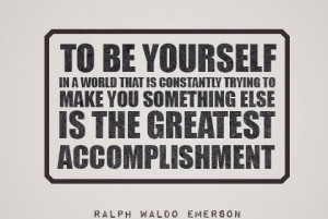 Greatest accomplishment!
