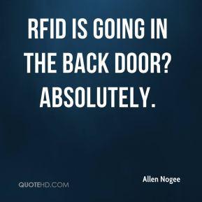 Back door Quotes
