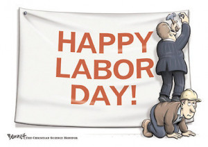 Mark Your Labor Day as Barter Day