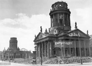News Photo Germany Berlin Berlin Postwar years view at the