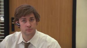 Jim Halpert Jim in 'Goodbye Toby'