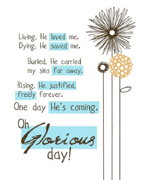 One day He is coming!!