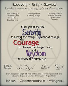 Sobriety Quote Collection Poster by PrintMyCreation on Etsy