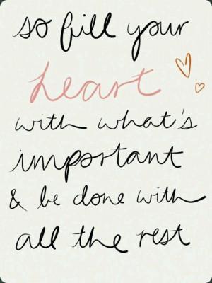 My heart is full of love :)