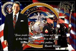 Ronald Reagan, Presidentof the United States; 1985