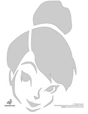 Pumpkin Stencils: Disney Pumpkin Carving Patterns Tinkerbell Disney ...