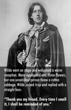 The Wildest and Best Comeback by Oscar Wilde