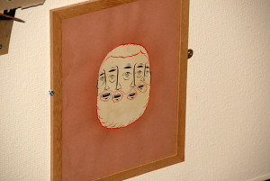 Barry Mcgee Art Faces