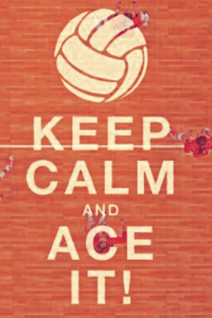 Awwwww ace in yo face what what! #wildcatsvolleyball