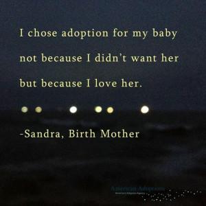 Adoption...Proud Birth Mom ♥