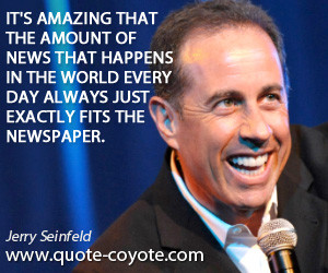 Seinfeld Show Quotes Jerry seinfeld quotes - it's