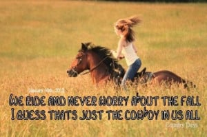 thats the cowboy in us all ♥