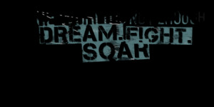 Quotes Picture: the world is not enough dream fight soar