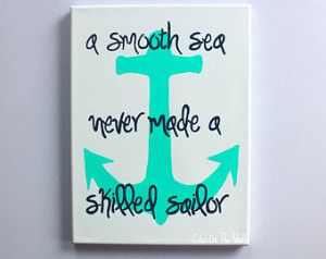 Anchor Quotes Canvas quote with anchor