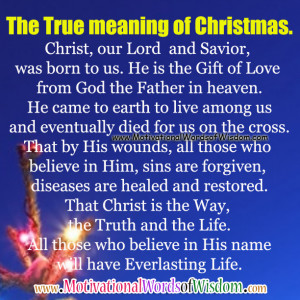 Christmas Quotes About Jesus Birth ~ Jesus Christ » Blog Archive ...