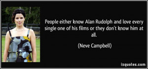 People either know Alan Rudolph and love every single one of his films ...