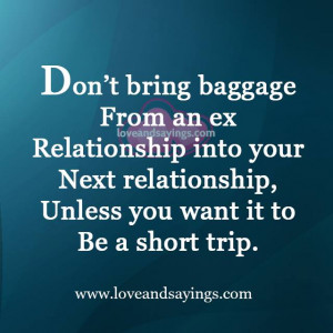 Ex Relationship into your Next Relationship