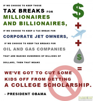 tax break for corporate jet owners, if we choose to keep tax breaks ...