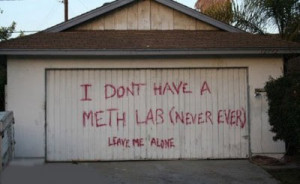 Garage doors are not for leaving messages, no matter how funny they ...