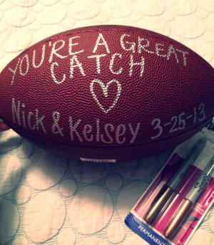 Cute Football Signs For Boyfriends Pin it. like. birthday