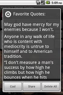 George S. Patton Quotes - screenshot thumbnail