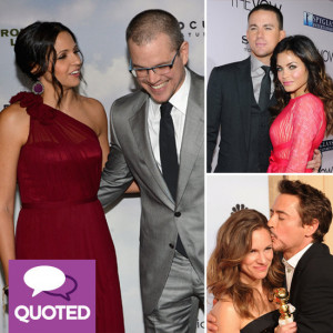 Celebrity Relationship Quotes