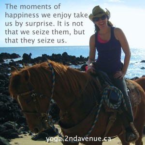 ... riding lessons as a kid and then returned to riding as an adult